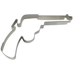 Cookie Cutter Colt 45 Revolver Stainless Steel