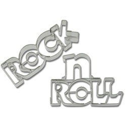 Cookie Cutter Rock N Roll Stainless Steel