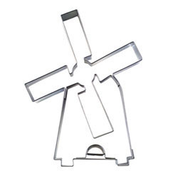 Cookie Cutter Dutch Windmill Stainless Steel