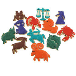 Cookie Cutter Zodiac Signs, Set of 12