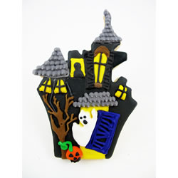 Cookie Cutter Haunted House Copper