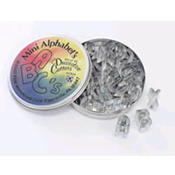 Alphabet Cookie Cutter Set, Small