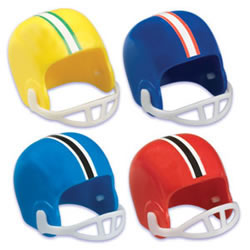 SALE!  Football Helmet Cupcake Decorations, Set of 8