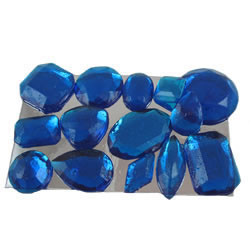 Sapphire Assorted Edible Sugar Gem Stones