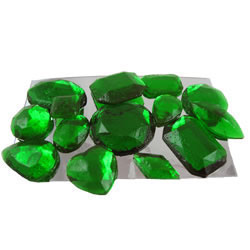 Emerald Assorted Edible Sugar Gem Stones