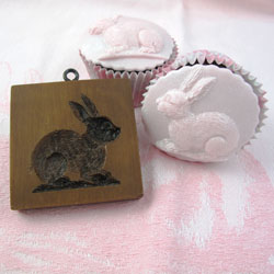 Detailed Bunny Cookie Mold