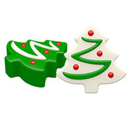 Chocolate Covered Oreos Christmas Tree Mold