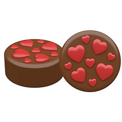 Lots of Love Chocolate Covered Oreos Mold