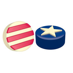 Stars & Stripes Chocolate Covered Oreos Mold