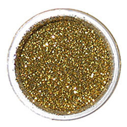 Hologram Gold Techno Glitter