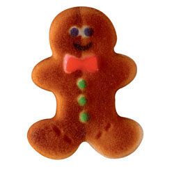 Gingerbread Man Sugar Decorations