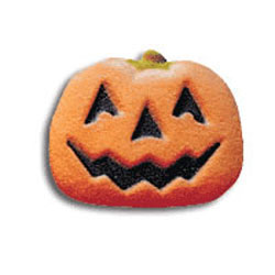 Jack O Lantern Sugar Decorations