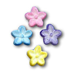 Sugar Flower Pastel Button, Set of 30 Limited Quantity