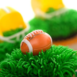 DP!  Football Cupcake Picks, Set of 12