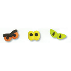 Icing Halloween Spooky Eyes, Set of 9