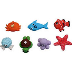 Icing Sea Creatures, Set of 7