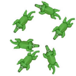Icing Safari Alligators Set of 18