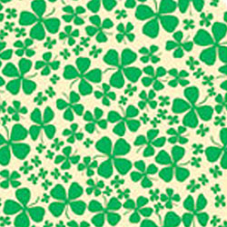 4 Leaf Clover Chocolate Transfer Sheet