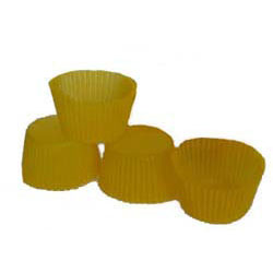 Muffin Cup Glassine Yellow