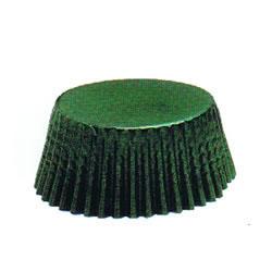 Green Foil Mini Muffin Cup Set