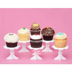 Sweet Cupcake Stands, Set of 6
