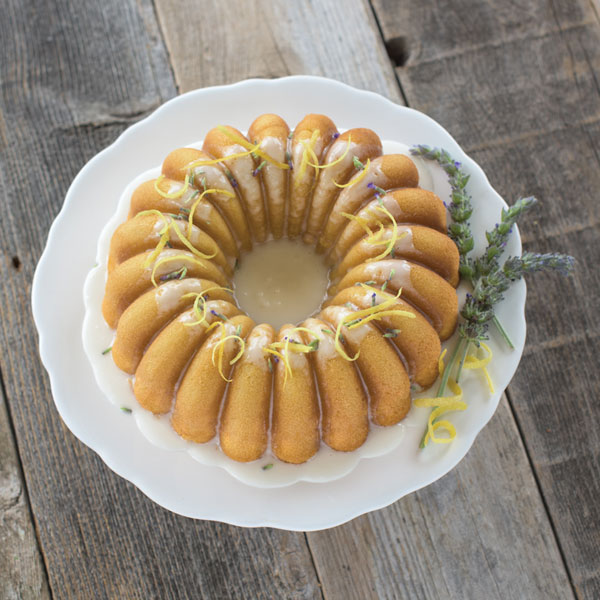 Cake Recipes Lemon Lavender Bundt Cake Recipe