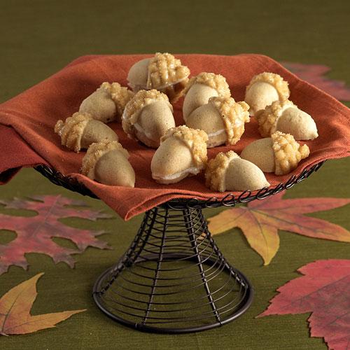Maple Acorn Cakelets