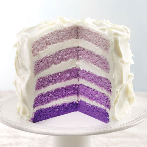Ombre Layer Cake Recipe