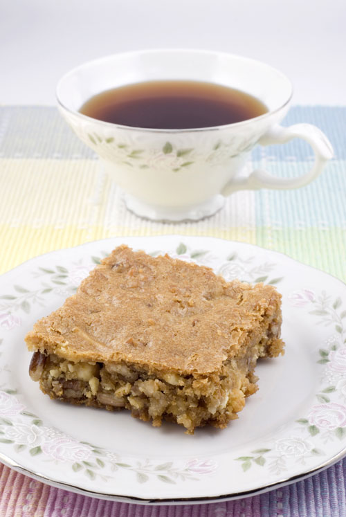 Cinnamon Apple Pecan Squares Recipe