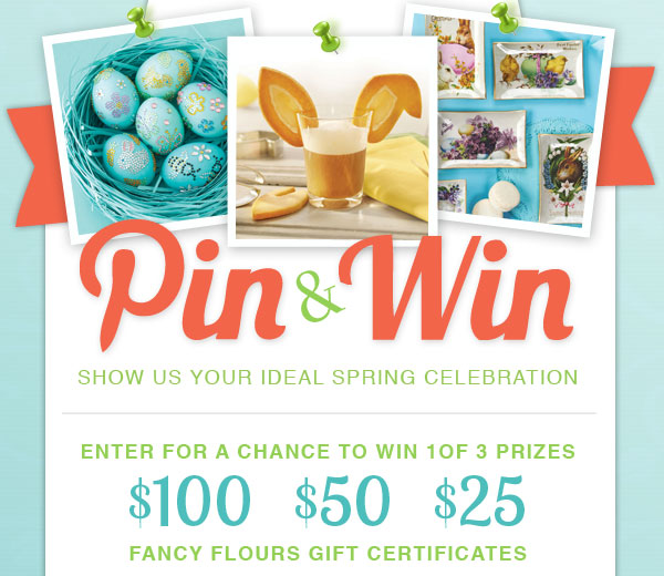 Spring Pin & Win Official Rules