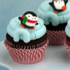 Penguin Igloo Cupcake How-To