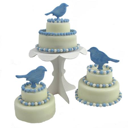 Tea Time Mini Wedding Cake Chocolate Covered Oreos Mold