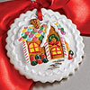 Gingerbread Cottage Gift Tag How-To