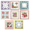 Bouquet of Flowers Handkerchiefs, Set of 8