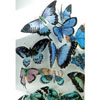 Butterflies Blue & Lavender Hues Wafer Paper