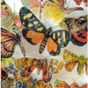 Butterflies Earth Hues Wafer Paper
