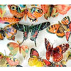Butterflies Orange & Pink Hues Wafer Paper