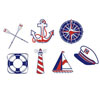 Nautical Icons Wafer Paper, Set of 20