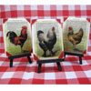 Vintage Poultry Wafer Paper, Set of 6