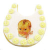 Cookie Cutter Baby Bib Copper