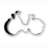 Cookie Cutter Bicycle Tin