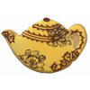 Tea Pot Cookie Cutter, Ann Clark