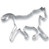 Cookie Cutter Animal Horse Trotting Stainless Steel
