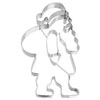 Cookie Cutter Large Santa Claus Stainless Steel