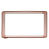 Cookie Cutter Rectangle  3 X 1.5, Copper