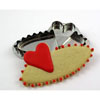 Hammer Song Valentine Place Card Tin Cookie Cutter
