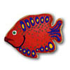 Cookie Cutter Fish Tropical Copper