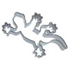 Cookie Cutter Gecko Stainless Steel