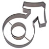DP!  Cookie Cutter Male Symbol Stainless Steel