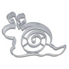 Cookie Cutter Snail Stainless Steel